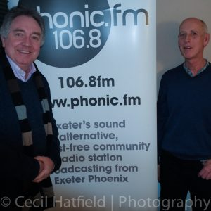 Graham at Phonic FM