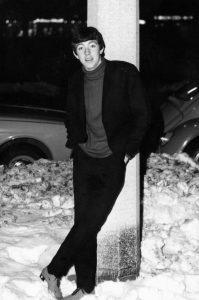 Graham in Hamburg in 1965
