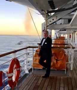 Graham on Cruise Ship Tour
